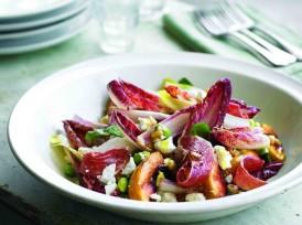 Salade de Valençay, nectarine grillées et jambon de Parme_web