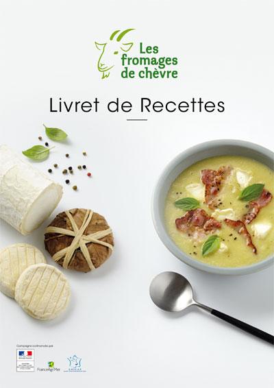 Livrets de recettes Les Fromages de Chèvre