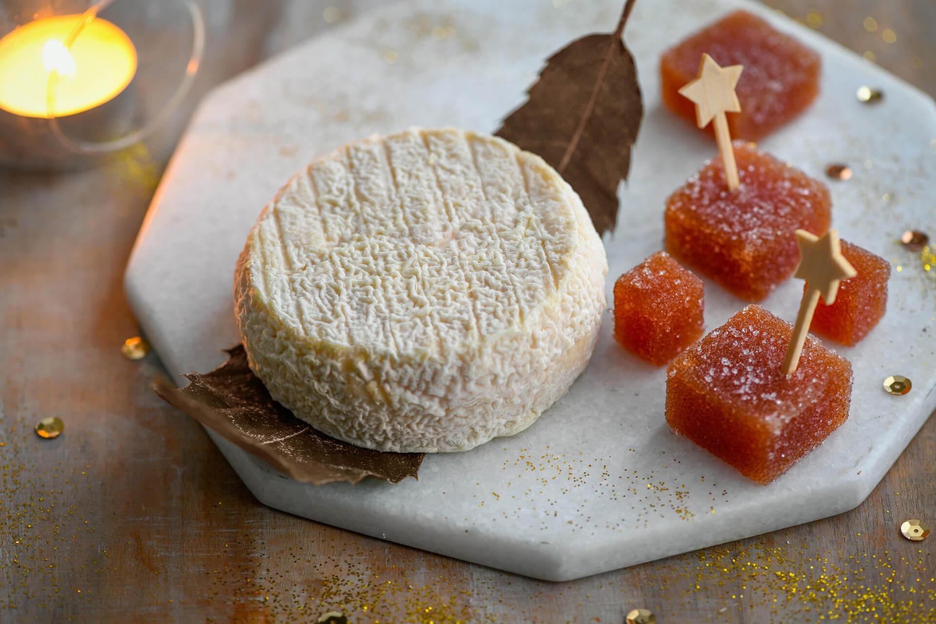 Image du fromage  Mothais sur feuille