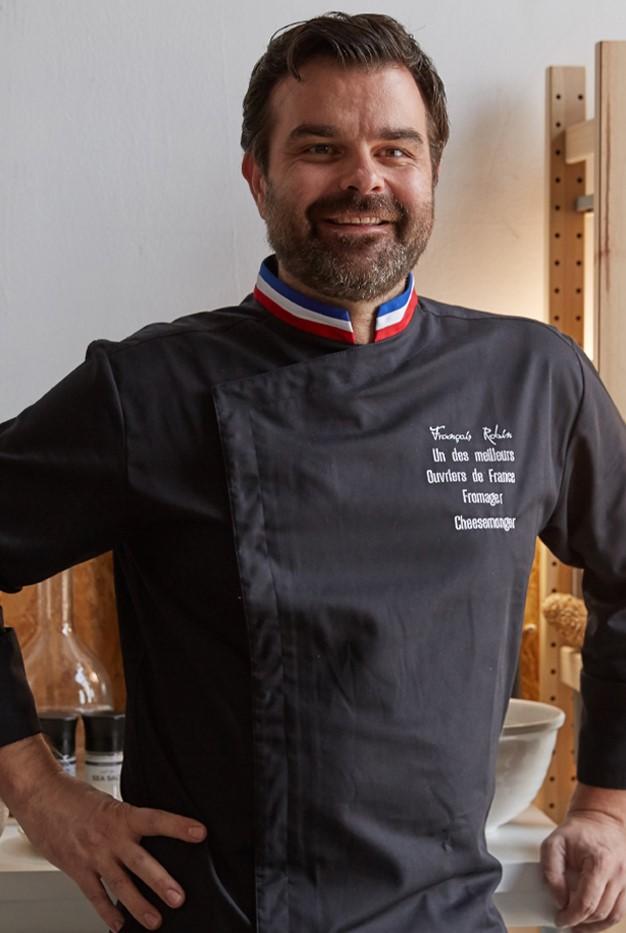 Photo de François Robin, fromager et meilleur ouvrier de France en 2011
